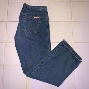Calvin Klein Classic White Tag Denim Jeans Size 14